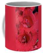 Red Gladiolus Coffee Mug by Susan Herber