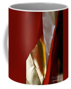 Red Gold And White Coffee Mug