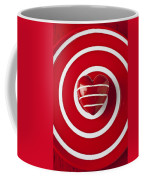 Red Heart Soft Stone Coffee Mug