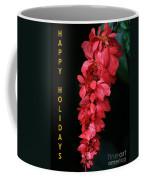 Red Holiday Greeting Card Coffee Mug