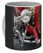 Red Hot Rod- Light And Chrome Coffee Mug
