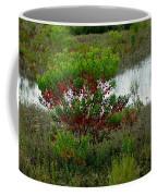 Red In Green Coffee Mug