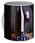 Red In The Shadows Coffee Mug by Elaine Plesser