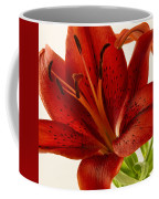 Red Lily Number Two Coffee Mug