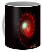 Red Nautilus Coffee Mug
