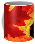 Red On Gold Coffee Mug
