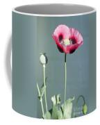 Red Opium Poppy Coffee Mug