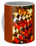 Red Or White Coffee Mug by Elaine Plesser