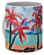 Red Palms Coffee Mug