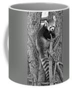 Red Panda 2 Monochrome Coffee Mug