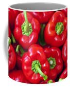 Red Peppers Coffee Mug by Joana Kruse