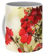 Red Petunias Coffee Mug