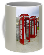 Red Phone Booths Coffee Mug