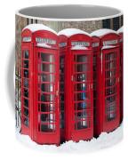 Red Phone Boxes Coffee Mug