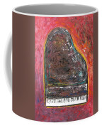 Red Piano Coffee Mug