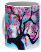 Red Plum Chinese Style Coffee Mug