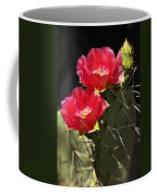 Red Prickly Pear Cactus  Coffee Mug