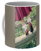 Red Pumps Coffee Mug by Joana Kruse