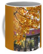 Red Railroad Trestle Coffee Mug