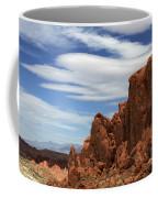 Red Rock Cliffs Valley Of Fire Nevada Coffee Mug