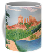 Red Rock Crossing Coffee Mug by Aimee Mouw