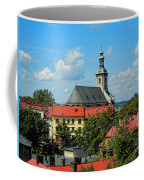 Red Roofed Wonders Coffee Mug