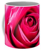 Red Rose Macro Coffee Mug