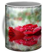 Red Rose Reflections Coffee Mug