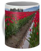Red Rows Coffee Mug