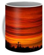 Red Skies At Night Coffee Mug