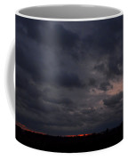 Red Sky In The Morning Coffee Mug