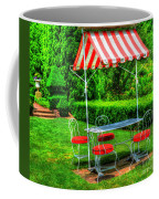 Red Stripes Coffee Mug