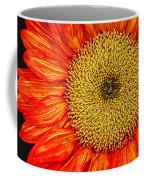 Red Sunflower Iv Coffee Mug