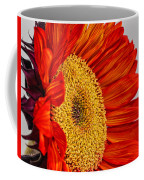 Red Sunflower V Coffee Mug