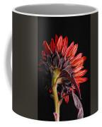 Red Sunflower X Coffee Mug