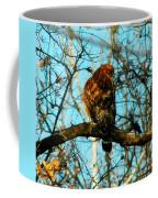 Red Tail Hawk Visitor Coffee Mug
