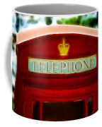 Red Telephone Box Coffee Mug