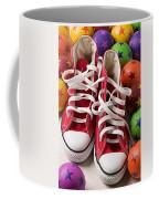 Red Tennis Shoes And Balls Coffee Mug