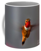 Red Throated Golden Hummingbird Coffee Mug