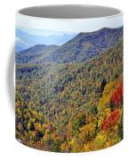 Red Trees  Coffee Mug