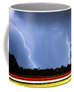 Red White And Blue Coffee Mug by James BO  Insogna