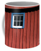 Red White And Blue Window Coffee Mug