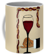 Red Wine Glass Coffee Mug