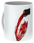 Red Wine Pour Coffee Mug