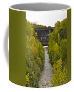 Redridge Steel Dam 7844 Coffee Mug by Michael Peychich