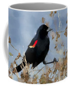 Redwing Blackbird Coffee Mug
