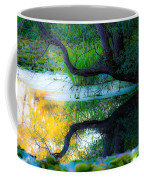 Reflected Tree In Pastel Landscape Coffee Mug