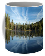 Reflecting Blue Coffee Mug