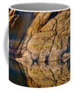 Reflecting Last Rays Of Setting Sun Coffee Mug