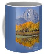 Reflection At Oxbow Bend Coffee Mug